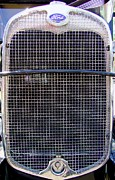 Mary Deal Prints - 1930 Ford Model A Grille Print by Mary Deal
