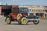 Model A Sedan Photos - 1930 Ford Model A Rumble Seat Coupe by Dave Koontz