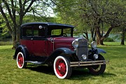 Model A Sedan Photos - 1930 Ford Model A Tudor Sedan by Tim McCullough