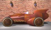 Rivets Art - 1930 Streamliner by Stuart Swartz