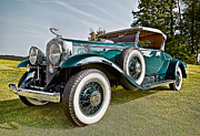 Vintage Cars Photos - 1931 Cadillac 452 A V 16 Roadster by Marcia Colelli