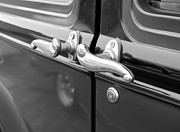 Ford Model T Car Prints - 1931 Ford Model T Door Handles Print by DJ Monteleone