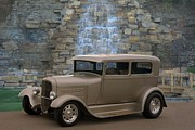 Ford Sedan Prints - 1931 Ford Sedan Custom Hot Rod Print by Tim McCullough