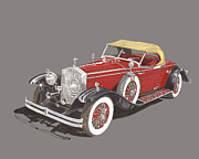 Silver And Black Framed Prints - 1931 Rolls Royce Henley Roadster I I Framed Print by Jack Pumphrey