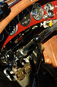 Racing Car Photographs Posters - 1932 Alfa Romeo 6C 1750 Series V Gran Sport Dashboard Poster by Jill Reger