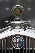 1932 Framed Prints - 1932 Alfa-Romeo Hood Ornament 2 Framed Print by Jill Reger
