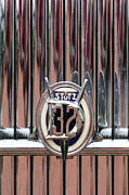 1932 Framed Prints - 1932 Stutz DV-32 Super Bearcat Emblem Framed Print by Jill Reger