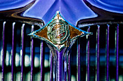 Sedan Prints - 1933 Chrysler Sedan Grille Emblem Print by Jill Reger