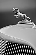 Collector Hood Ornaments Prints - 1933 Dodge Ram Hood Ornament 2 Print by Jill Reger