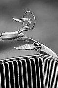 1933 Pontiac Framed Prints - 1933 Pontiac Hood Ornament - Emblem Framed Print by Jill Reger
