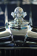 Collector Hood Ornament Metal Prints - 1933 Stutz DV-32 Hood Ornament 2 Metal Print by Jill Reger