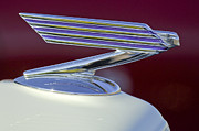Classic Car Prints - 1934 Chevrolet Hood Ornament Print by Jill Reger