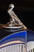 Car Detail Prints - 1934 Packard Hood Ornament Jill Reger Photographer Print by Jill Reger