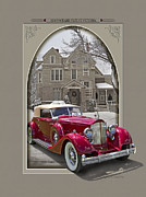 Autoart Prints - 1934 Packard Twelve Victoria Print by Roger Beltz