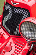 1935 Photos - 1935 Aston Martin Ulster Race Car Grille by Jill Reger