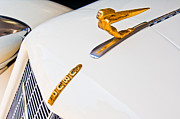 Collector Hood Ornaments Posters - 1935 Auburn Boat Tail Speedster Hood Ornament Poster by Jill Reger