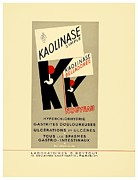 Lithograph Digital Art Framed Prints - 1936 - Kaolinase Drug Advertisement - Color Framed Print by John Madison