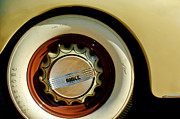 1936 Photos - 1936 Buick 40 Series Wheel Emblem by Jill Reger