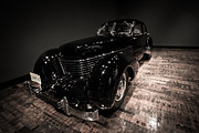 Frist Museum Prints - 1936 Cord 810 Beverly Sedan Print by Steve Munoz