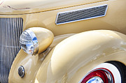 Detailed Rich Prints - 1936 Ford Cabriolet  Print by Rich Franco
