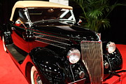 American Car Photos - 1936 Ford Deluxe Roadster - 5D19963 by Wingsdomain Art and Photography