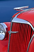 Collector Hood Ornament Posters - 1937 Chevrolet Hood Ornament Poster by Jill Reger