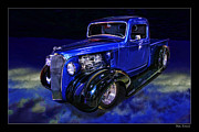 Blake Richards Framed Prints - 1937 Chevrolet Pickup Truck Framed Print by Blake Richards