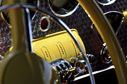 Best Car Photography Prints - 1937 Cord 812 Phaeton Controls Print by Jill Reger