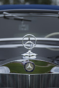 Motor Meter Photos - 1937 Mercedes Benz by Jack R Perry