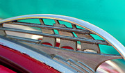  Boat Ornaments Posters - 1937 Plymouth Hood Ornament 2 Poster by DJ Monteleone