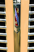 1938 Framed Prints - 1938 Buick Coupe Grille Emblem Framed Print by Jill Reger