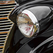 Headlight Digital Art - 1938 Chevrolet Sedan by Carol Leigh