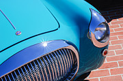 Featured Art - 1938 Fiat 508C Berlinetta Speciale Grille - Hood Emblem by Jill Reger