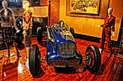 Indy Car Prints - 1938 Sparks Thorne Little Six Print by Mike Martin