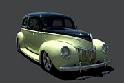 Ford Sedan Prints - 1939 Ford Sedan Hot Rod Print by Tim McCullough