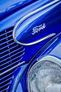 1939 Ford Woody Wagon Side Emblem Print by Jill Reger