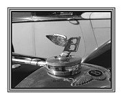 Car Mascot Metal Prints - 1939 M K 4 Bentley Flying B Mascot Metal Print by Jack Pumphrey
