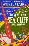 1939 Sea Cliff - Worlds Fair Celebration Print by American Classic Art