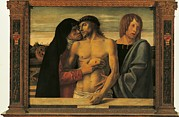 The Pieta Prints - Italy, Lombardy, Milan, Brera Art Print by Everett