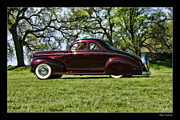 Blake Richards Framed Prints - 1940 Ford Coupe Framed Print by Blake Richards