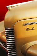 Best Car Photography Prints - 1940 Nash Sedan Grille Print by Jill Reger
