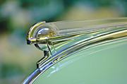 Ornaments Prints - 1940 Oldsmobile Hood Ornament Print by Jill Reger