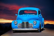 Street Rod Art - 1941 Chevy Coupe by Dave Koontz