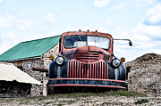 Vintage Auto Digital Art Posters - 1941 Chevy Truck Poster by Bill Cannon