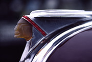 Car Culture Posters - 1941 Pontiac Hood Ornament Poster by Carol Leigh