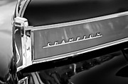 Champion Photo Prints - 1941 Studebaker Champion Grille Emblem Print by Jill Reger