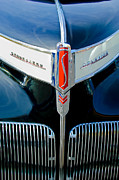 1941 Framed Prints - 1941 Studebaker Champion Hood Emblem Framed Print by Jill Reger
