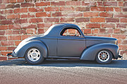 Street Rod Art - 1941 Willys Coupe in Primer by Dave Koontz