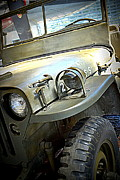 Jeeps Photos - 1942 Ford U.S. Army Jeep l by Michelle Calkins