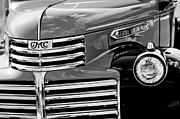 Gmc Framed Prints - 1942 GMC Grille Emblem Framed Print by Jill Reger